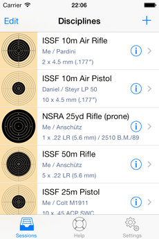 Shooting disciplines: ISFF Air Pistol and Air Rifle and NSRA Small Bore Rifle